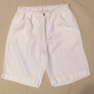 White Linen Tommy Bahama Shorts size L